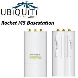 Ubiquiti AirMax Rocket M5 5GHz Hi Power 2x2 MIMO AirMax TDMA BaseStation