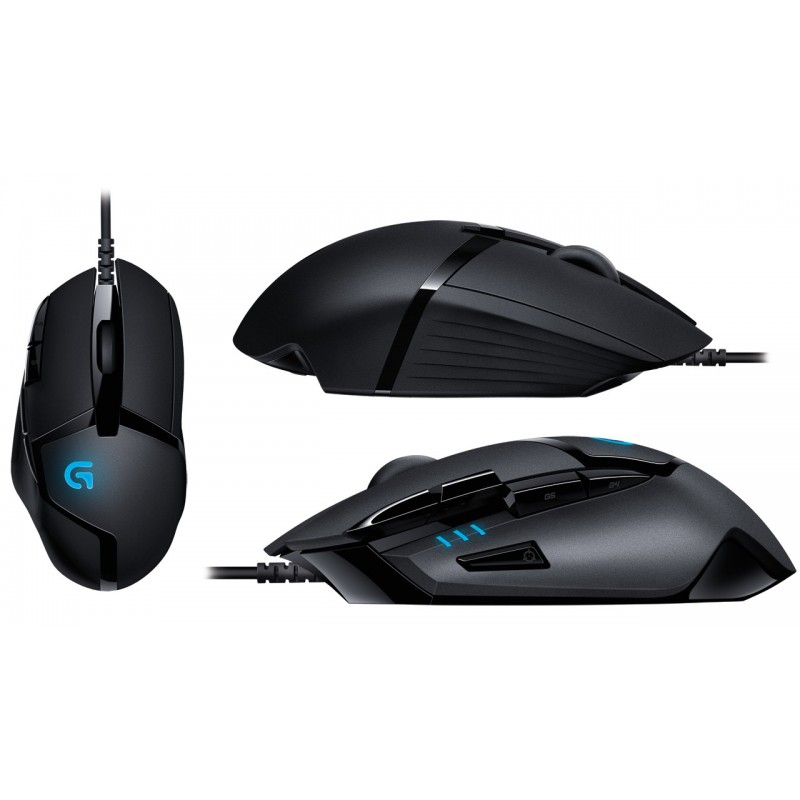 a32d0e57a05 Logitech 910-004068 G402 Hyperion Fury Ultra-Fast FPS Gaming Mouse