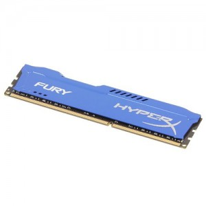Kingston HyperX FURY 8GB 1866MHz DDR3 CL10 DIMM - Blue