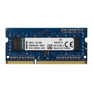 Kingston Value Ram 4GB 1600MHz DDR3L Non-ECC CL11 SODIMM 1.35V