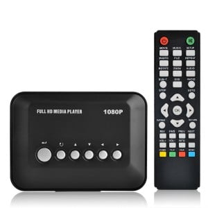 TV Box Media Player - USB, SD - FULL HD with remote Play files directly from USB/SD Card on your TV