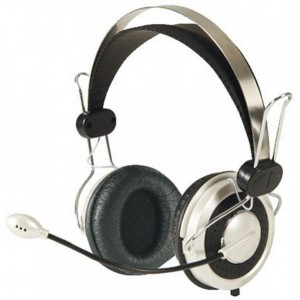 Mecer HS-819USB USB Stereo Headphone & Microphone W/Volume Control