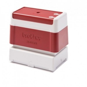 Red Stamp (34 X 58MM) for Brother Stamp Creator