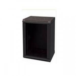 RCT 9U 450MM WALL MOUNT CABINET GLASS DOOR