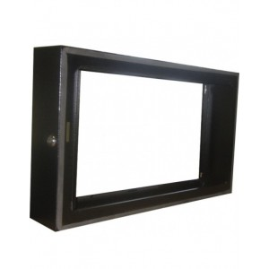RCT 15U Network Cabinet Swing-Frame Conversion Collar - 100mm