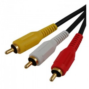 3' 2-rca Plugs To 2-rca Plugs Computers/tablets & Networking Computer Cables & Connectors