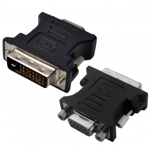 Astrum A37023-B DVI-I 24+1P to VGA Female Adapter