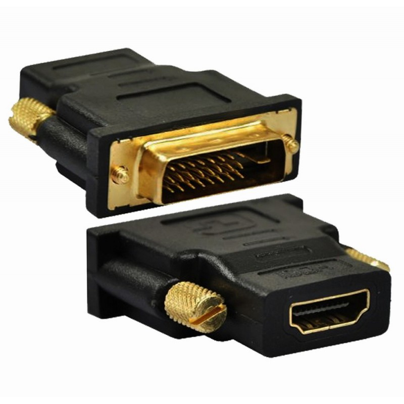 Astrum DVI-I Male to HDMI Female Adapter-A37025-B