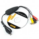 Easycap USB Video Capture Card (Converts VHS & Camera to DVD) EzCap 172