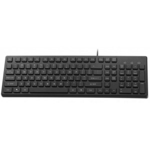 MECER BLACK USB SLIM KEYBOARD