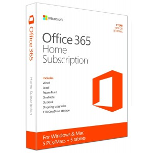 Office 365 Home OEM 1YR-Subscription
