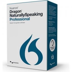 Nuance Dragon Naturally Speaking Professional 13.0 International English - box pack