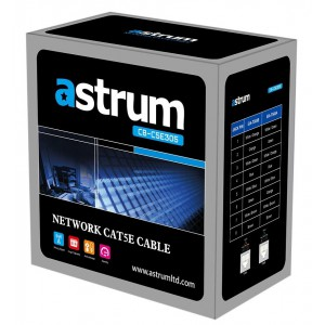 Astrum Network Cable Cat5e 305m Roll
