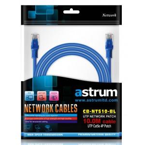 NETWORKING CABLE 10.0M CAT5E STR BLUE