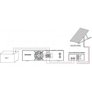 EXTERNAL PWM SOLAR CHARGER FOR IVR-1200LBKS