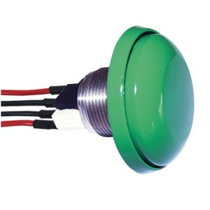 PRE CABLED PUSH BUTTON MUSHROOM