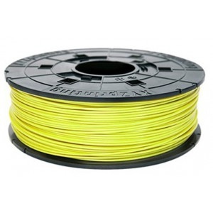 Da Vinci 3D Printer PLA Filament Catridge - 600g (Yellow)