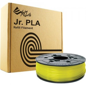 XYZ Printing Da Vinci Jr. (Junior) 3D Printer PLA Filament Cartridge 600g (CLEAR YELLOW)