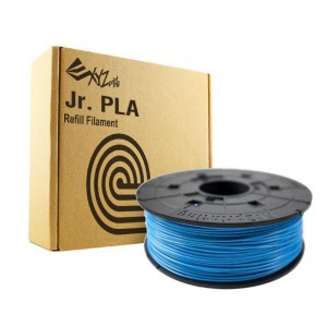 XYZ Printing Da Vinci Jr. (Junior) 3D Printer PLA Filament Cartridge 600g (CLEAR BLUE)