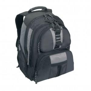 Targus Bag: Sport Notebook Backpack 15.6'', Nylon, Black & Platinum, 2.5 kg, Limited Lifetime warranty