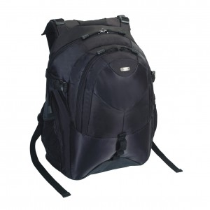 Targus Bag: Campus Backpack 15 - 16'', Nylon, Black, 2.5 kg, Limited Lifetime warranty