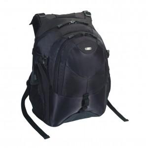 Targus Bag: Campus Backpack 15 - 16'', Nylon, Black, 2.5 kg, Limited Lifetime warranty