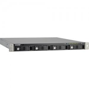 QNAP Affordable Rack-optimized 4-bay Dual-core TS-431U Turbo Server Message Block (SMB) Network Attached Strage (NAS) Server