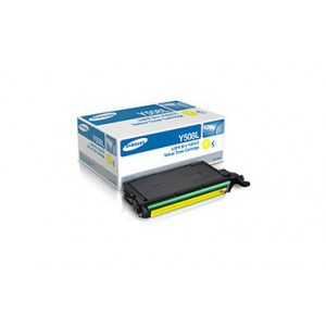 Samsung Yellow Toner cartridge with yield of 4,000 pages