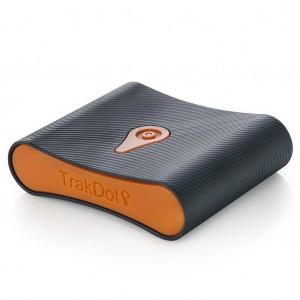 Trakdot Luggage Tracker (Black/Orange)