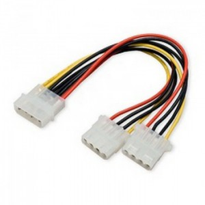 MOLEX SPLIT CABLE 0.2M M-2M 4PIN PSU