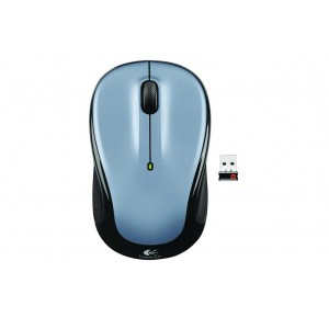 Logitech Wireless Mouse - M325 (Light Silver)