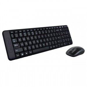 Logitech 920-003161 MK220 Cordless Keyboard & Mouse Combo