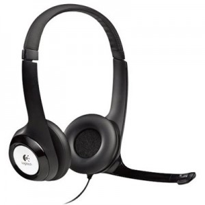 Logitech Headset - H390 USB Stereo Internet headset