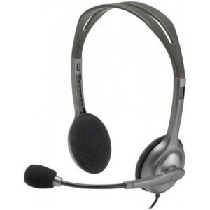 Logitech Headset - H111 - Analog Stereo Headset