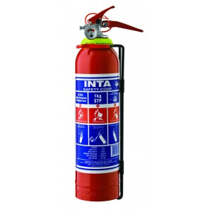 INTASAFETY 1 Kg DCP Fire Extinguisher