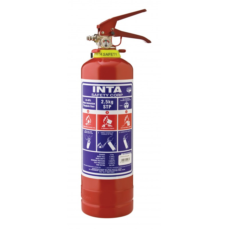 INTASAFETY 2.5 Kg DCP Fire Extinguisher
