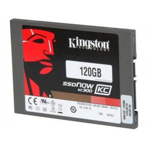 Kingston 120GB SSDNow KC300 SSD SATA 3 2.5 (7mm height) Upgrade Bundle Kit