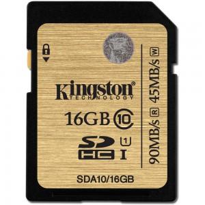 Kingston 16GB SDHC Class 10 UHS-I Ultimate Flash Card