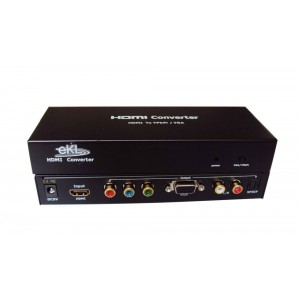 HDMI To VGA + YRG Converter