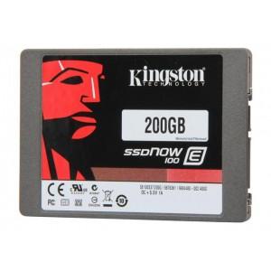 KINGSTON 200GB ENTERPRISE-CLASS SSDNOW E100 SERIES