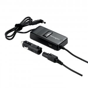 Kensington Auto/Air Laptop Power Adapter with USB