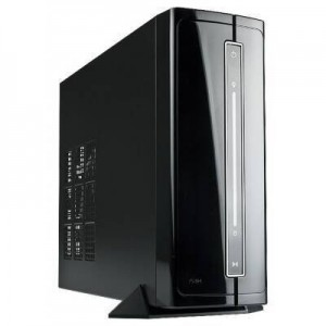 In Win IW-BP671.200BL Black Mini-ITX Mini Tower with 200W Power Supply Computer Case