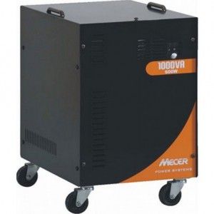 Mecer BBONE-012 12V Transportable 600W DC-AC Inverter - Includes Battery