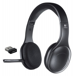 Logitech H800 Wireless Headset for PC, Tablets and Smartphones, Bluetooth Headphones with Mic