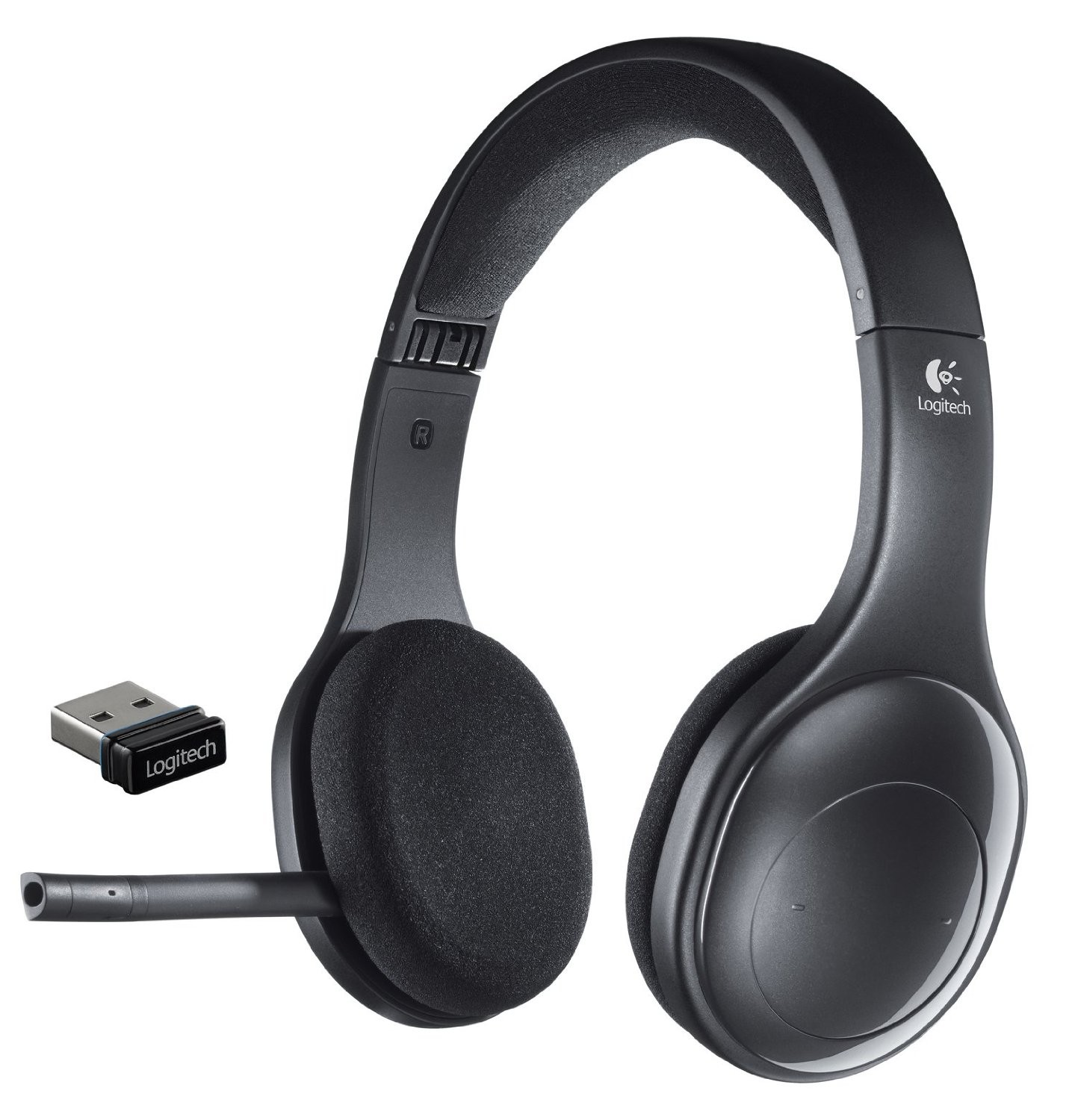 headphones earbuds logitech h800 wireless headset for pc tablets and. Black Bedroom Furniture Sets. Home Design Ideas