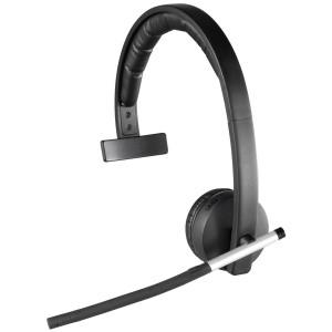 Logitech Wireless Headset Mono H820e (Business Product), DECT spectrum Single-Ear Headset