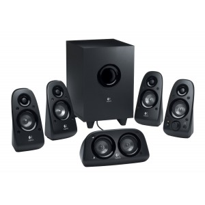 Logitech Speakers - Z506 5.1, 3.5mm, 70W RMS, Multiple inputs incl Headphone jack