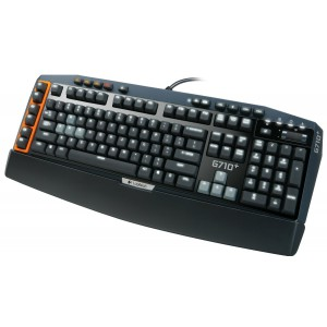 Logitech G710+ Mechanical Gaming Keyboard with Tactile High-Speed Keys - Cherry MX Brown
