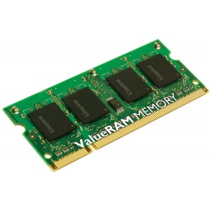Kingston Technology ValueRAM 2GB 1600MHz DDR3L Non-ECC CL11 SODIMM SR X16 1.35V Notebook Memory