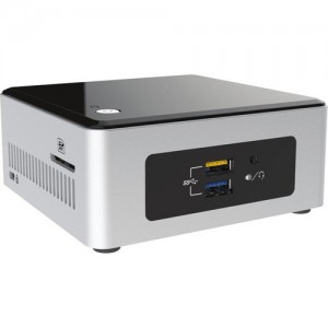 Intel NUC Kit Celeron/HDMI/VGA/SDXC/CIR/USB3/LAN/WiFi/BT